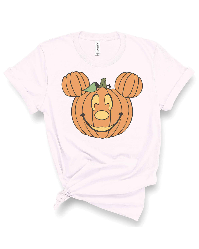Pumpkin Mickey Inspired Tee | Adult