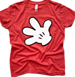 Mickey Inspired Glove Tee | Youth
