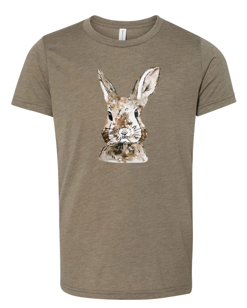 Watercolor  Bunny Tee | Kids