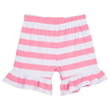 girls striped shorts