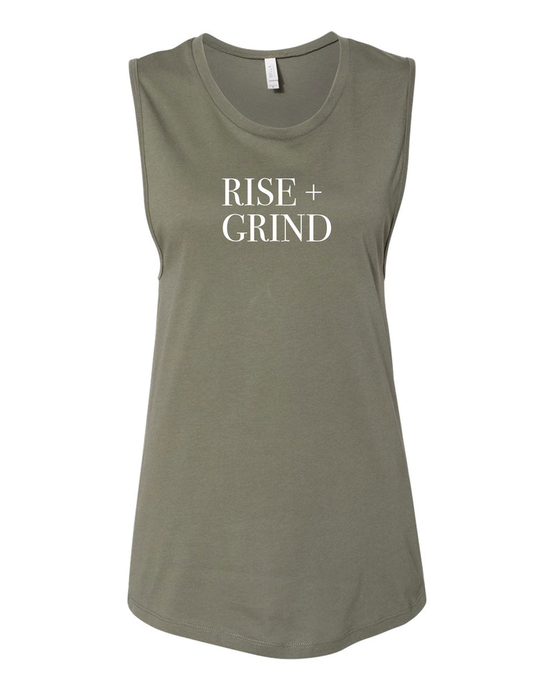 Rise + Grind Muscle Tank