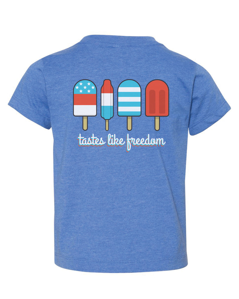Tastes Like Freedom Popsicle Tee | Kid's