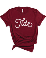 Tide Stamped Gameday Tee
