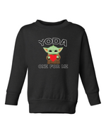 Yoda One for Me | Pullover | Kids