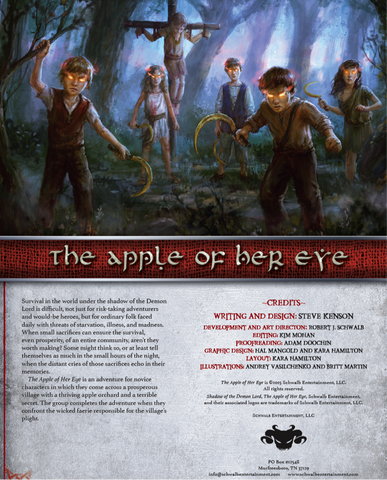 The Apple of Her Eye (Novice)