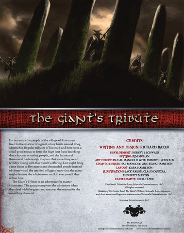 The Giant's Tribute (Master)