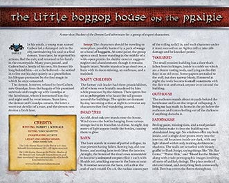 The Little Horror House on the Prairie