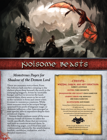 Noisome Beasts