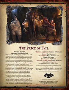 The Price of Evil