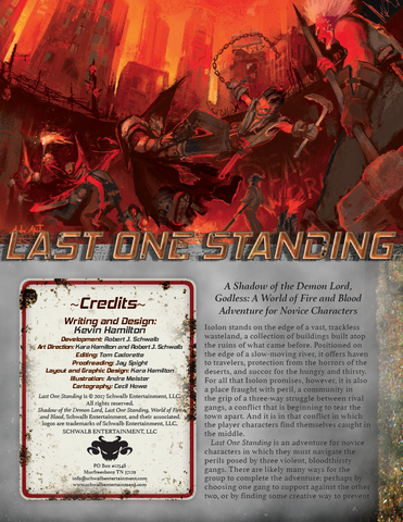 Last One Standing (Godless, Novice)