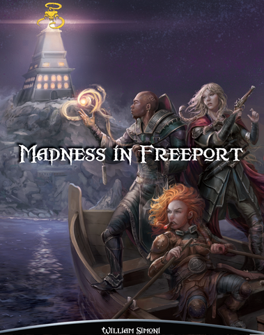 Madness in Freeport (Print)