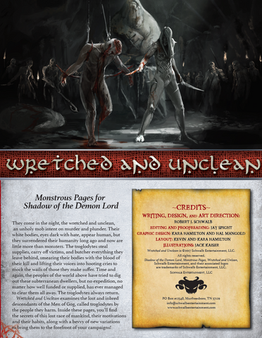 Wretched and Unclean (Monstrous Pages)