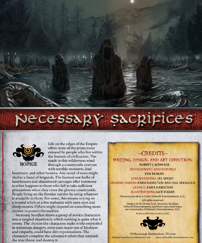 Necessary Sacrifices (Novice)