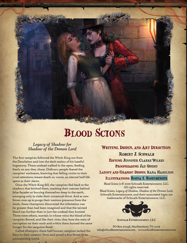 Blood Scions