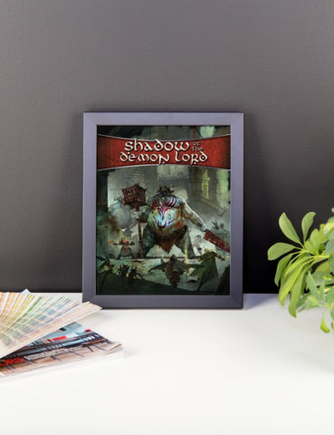 Shadow of the Demon Lord Framed Poster