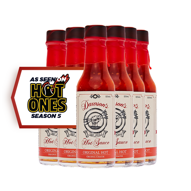 6 Pack Original Hot - Hot Ones Season 5 Sauce #7