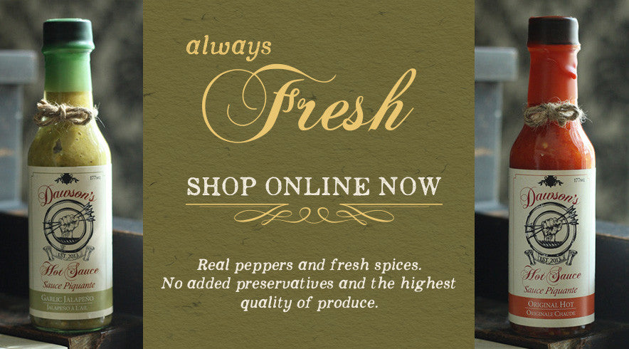Dawson's Hot Sauce online shopping