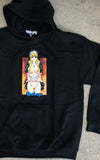 Nun Hooded Sweatshirt - BLACK