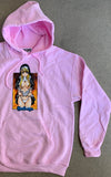 Nun Hooded Sweatshirt LIGHT PINK