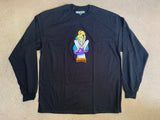 Alice LONG SLEEVE t-shirt BLACK