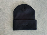 Barrel of a Gun Beanie - BLACK