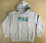 Battle School Hooded Sweatshirt - HEATHER GREY