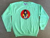 Barrel of a Gun Crew Sweatshirt - MINT GREEN
