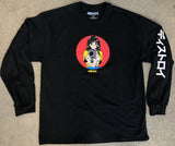 deluxe barrel of a gun LONG SLEEVE t-shirt BLACK