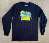 Mobile Suits LONG SLEEVE t-shirt BLACK