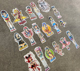 hook-ups demon girls classic stickers 18 pack