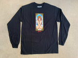 Angel Girl LONG SLEEVE t-shirt BLACK