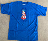 Geisha 3 T-shirt - ROYAL BLUE