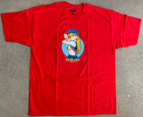 Flight Girl Kimiko T-shirt - RED