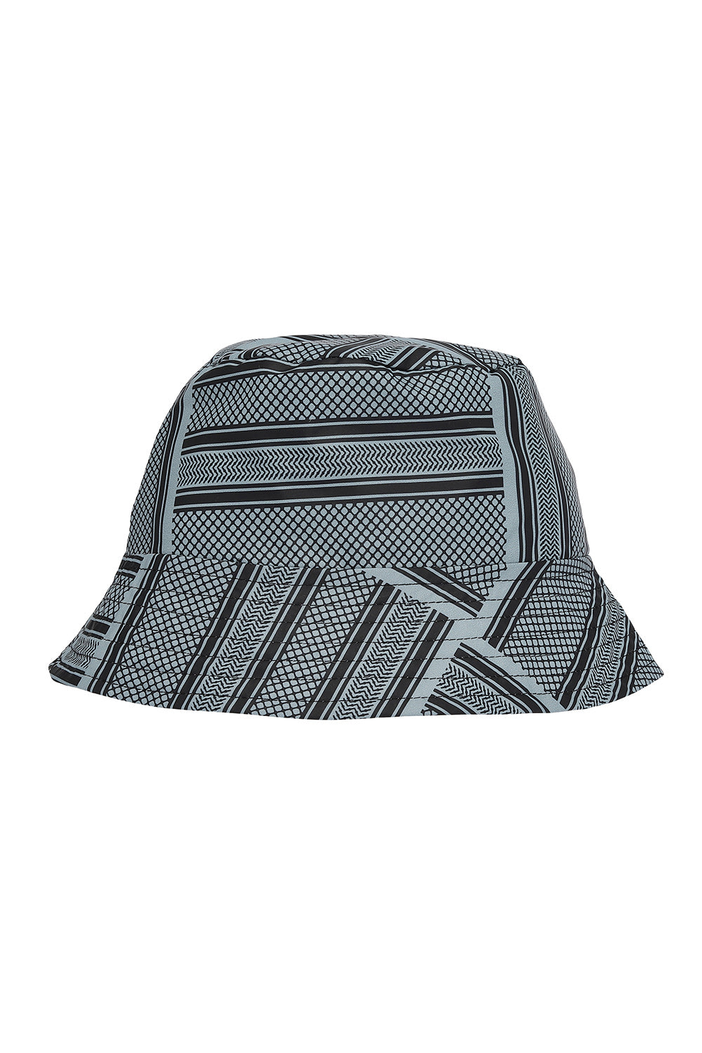 Grey Partisan Bucket Hat