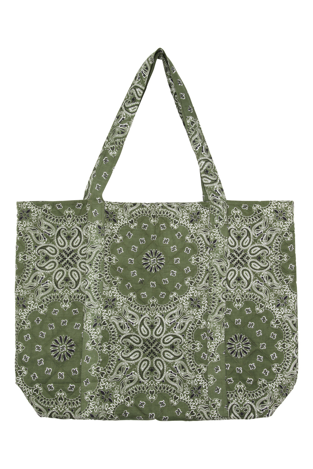 Big Shopper Green Quiltet
