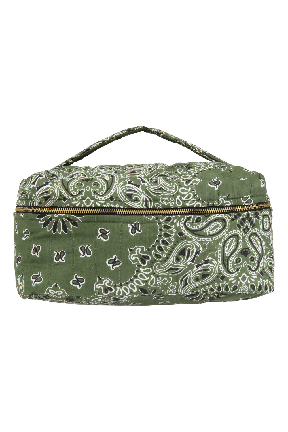 Toilet Bag  Bandana Green