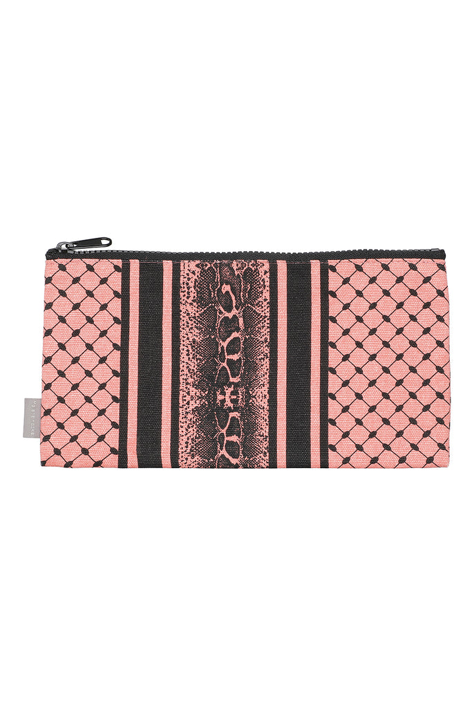 Coral Partisan Pencil Case