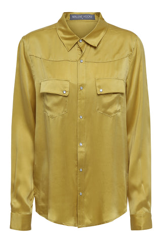 Sizet Silk Shirt Yellow