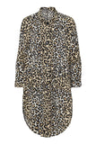 Leopard Bebe Shirt Dress