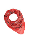 Wool Red Bandana