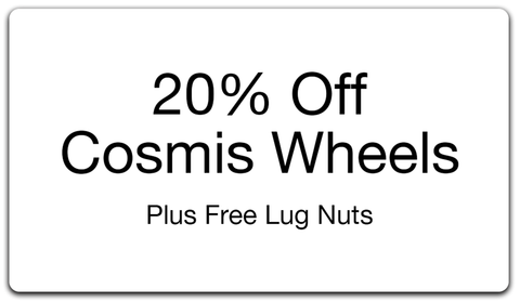 20% Off Cosmis Wheels