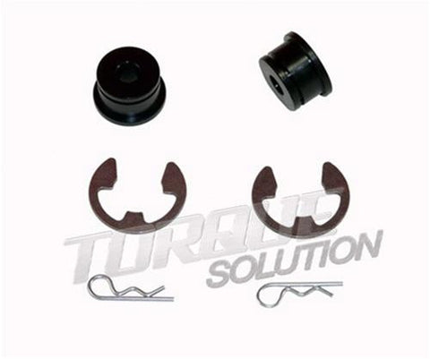 Torque Solution Shifter Cable Bushings: Mitsubishi Evolution X 2010+ - Panda Motorworks - 1