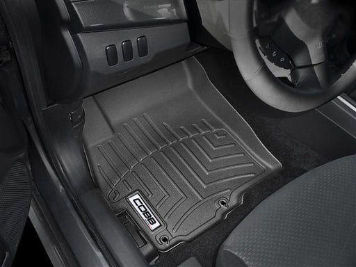 COBB 13-18 Ford Focus ST Front FloorLiner by WeatherTech - Black