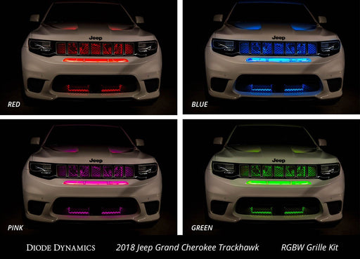 RGBW Multicolor Grille LED Kit
