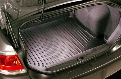 Husky Liners Ford Focus 5 Door Hatchback WeatherBeater Black Trunk Liner w/ OEM Subwoofer - Panda Motorworks