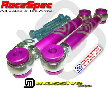 Massive RaceSpec Adjustable Toe Arms - Panda Motorworks - 1