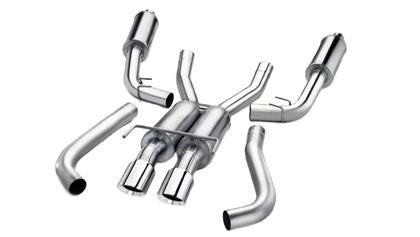 "Corsa 2015 Subaru WRX Cat Back Exhaust, Polished Quad 3.5"" Tips *Sport* - Panda Motorworks"