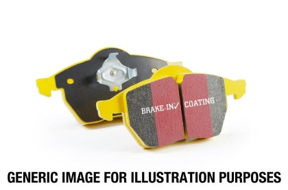 EBC 12+ Ford Focus 2.0 Turbo ST Yellowstuff Front Brake Pads