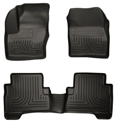 Husky Liners 2013 Ford Escape WeatherBeater Combo Black Floor Liners