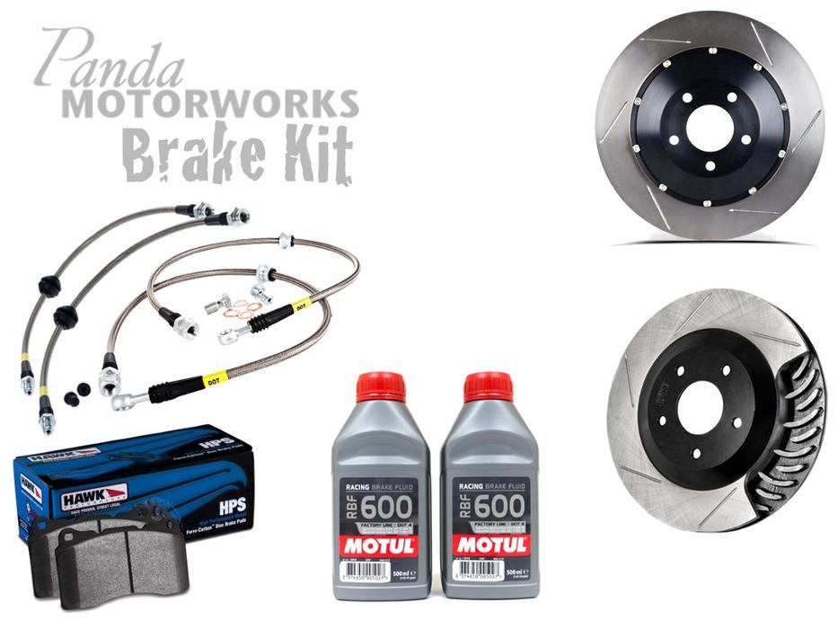 Panda Motorworks Front & Rear Focus RS Brake Kit